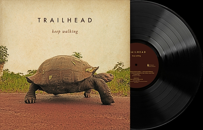 "Trailheads Album ""Keep walking"" in der edlen Vinyl-Edition."